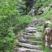 Ecco le prime scalinate.