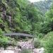 Passerella sul torrente Nala.