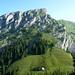 Widderfeld Süd über der schön gelegenen Alp Birchboden