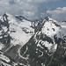Links Grauhorn, rechts Piz Jut