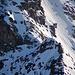 Zwei Alpinisten auf dem SW-Grat des Mönch