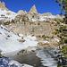 Unnamed lake at approximately 10450 ft NE of the Matterhorn Peak