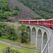 ... der berühmte Kreisviadukt der Berninabahn
