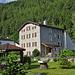 Casa Zanetti: in diesem schönen Bündnerhaus logierten wir