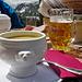 Bündner Gerstensuppe auf Alp Grüm