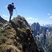 Am Gipfel des Südlichen Rotkopfs