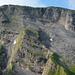 Close-Up der Steilaufschwünge der Schwalmis Nord Route