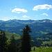 An der Scheid mit Blick zu den Damülser Bergen.