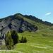 Der Salzbödenkopf von der Altenfluh Alpe aus gesehen.