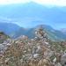 Dalla vetta del monte Duria il lago di Como