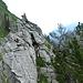 Seealpseeturm:: Brüchiger, überhängender Gipfelgrat