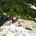 Die ersten Kletterstellen