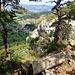 Bänkli auf dem südlichen Gipfel, Blick Richtung Meltingen