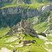 Steckenberg: Blick von den Altenalptürmen auf die Nordkante
