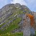 Kaiseregg, und Grenzstein