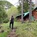 bei der Hütte unterhalb des Roßkopfes
