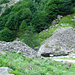 Val Vegornèss - Steinwälle zum Fluten