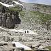 das letzte Stück im Aufstieg zum Chäserrugg. T3 weil viel loses Geröll und Steine