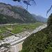 und noch einmal Baustelle NEAT Gotthard  Portal Nord