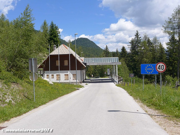 """Der """"aufgelassene"""" Grenzübergang nach Slowenien - der Paulitschsattel"""