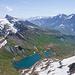 Bachsee mit dem noch winterlichen Hiendertelti zwischen Wildgärst und Schwarzhorn