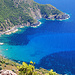 Tiefblick von der Punta Castellacciu