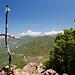 Provisorisches Gipfelkreuz