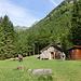 tolle Hütte auf 1067 m