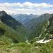 Val Ambra von ca. 1940 m aus