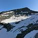 Basal (2588 m), wir sind ihn über den schneefreien Hang ganz links angegangen
