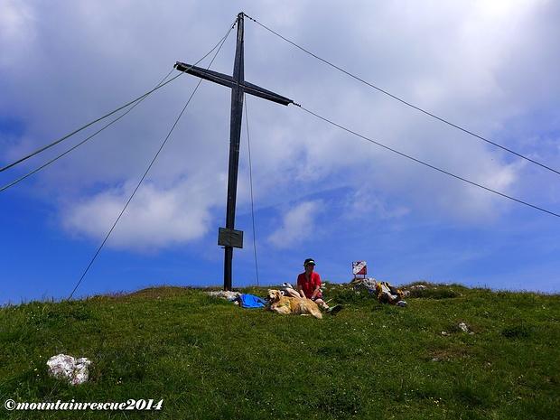 Einsame Gipfelrast am Ferlacher Horn