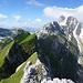 Die mittlere Alpstein-Kette - wunderschön!
