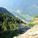 Vista verso la bassa valle