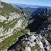 Der Blick schweift über den Appenzeller Alpstein