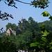 Blick vom Schloss Schartenfels auf die Burg oberhalb Baden