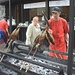 Frisch gegrillter Fisch am Eibsee - für 6,10 Euro ein gelungener Tourenabschluss!
