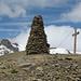 Gipfel Sex Rouge, im Hintergrund Mont Pucel