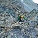 Block-Kletterei unterhalb Pt. 3123.