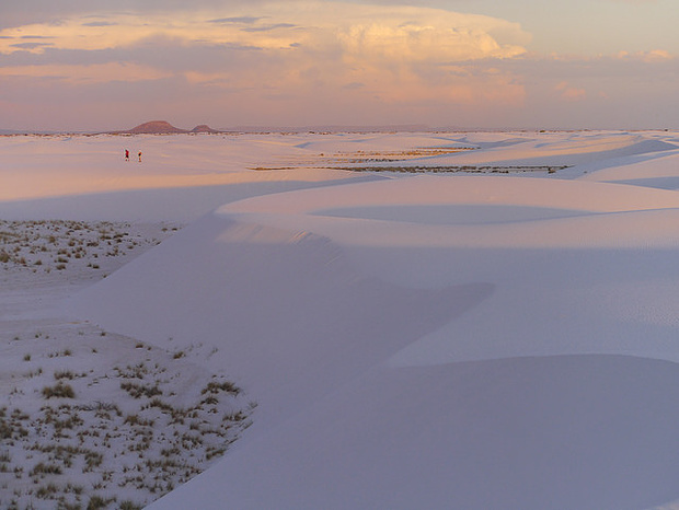 White Sands Desert in New Mexiko.