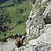 Steile Abstiege