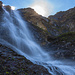 Wasserfall des Rawilpassbachs