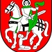 <b>Lo stemma comunale di Medel / Lucmagn rappresenta San Martino di Tours.</b>