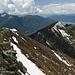 La cresta del Madonetto dalla quale siamo saliti e sulla destra la Cima di Sassello