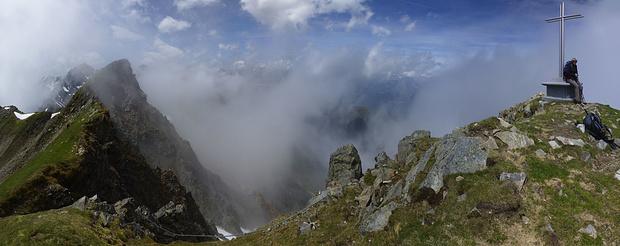 Gipfel des Roßkogels