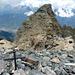 Blick vom Südgipfel Monte Orsiera 2878m zum Nordgipfel