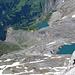 Noch vor 150 Jahre stürzte sich der Rezligletscher - die Zunge der Plaine Morte - in wilden Gletscherbrüchen über diese Stufen zur Lenk hinunter