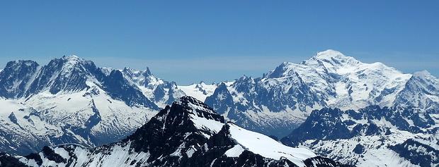 Mont-Blanc mit Trabanten