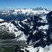Panorama Grand Combin - Mont-Blanc