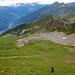 Steiler Aufstieg zum Pizzo Molare