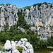 Blick ins Klettergebiet Alcinides